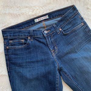 J Brand cropped dark wash jeans - size 27